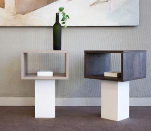 Cubo Mesa De Luz / Dressoire Maja Modular Design 3 Lineas