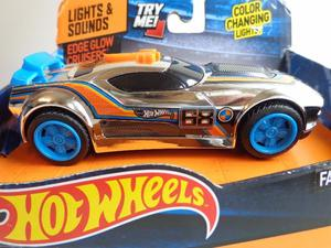 Hot Wheels Auto Con Luz Y Sonido importado original