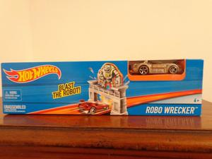Hot Wheels Pista Lanzadora Robo Wrecker