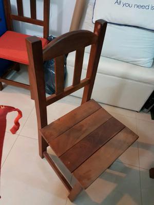 Mesa + sillas de algarrobo