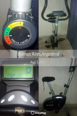 Vendo bicicleta fija olmo magnétic