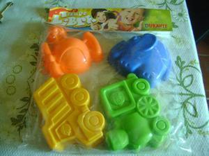 Vendo juego de moldes para niños pequeños