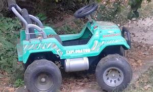 vendo auto a bateria jeep