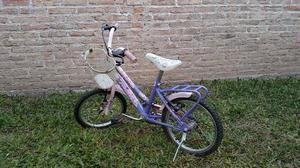 Bicicleta Tomaselli rodado 14 nena. Usada