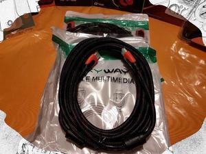 Cable HDMI - HDMI 5 Metros mayados