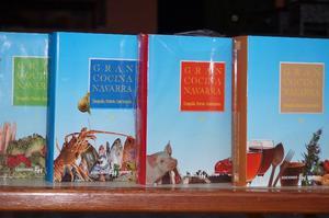 Excelente Lote De 4 Libros De Cocina Navarra