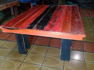 Mesas para quinchos rusticas posot class - Mesas de palet ...