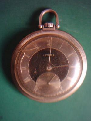 Reloj de Bolsillo Novoris Art Deco. Oportunidad !