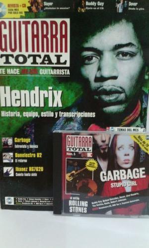 Revista Guitarra Total nro.5 con cd. Importada