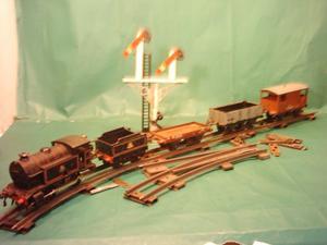 Tren Hornby Meccano England  Con 9 Mts. De Via