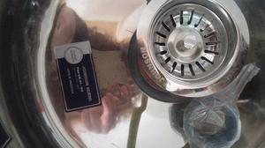 bacha circular de acero inoxidable jhonson