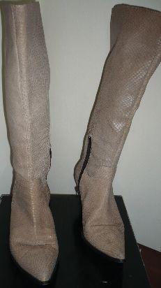 botas de caña alta (usadas)