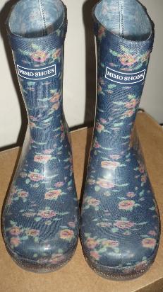 botas de lluvia n  (usadas)