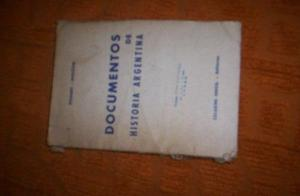 documentos de historia argentina etchart - douzon. *$50
