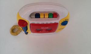 grabador a cassette radio am fm. toy history