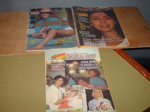 3 revistas (ahora) de cronica en buen estado sigue abajo
