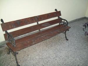 Banco de jardin en cipres posot class - Banco madera jardin ...
