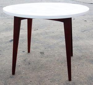 El Restaurador - Mesa Ratona Americana Escandinava de madera