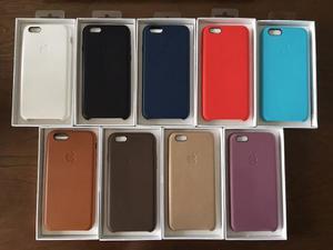 Funda iphone 7 plus apple original cuero Posot Class
