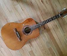 Guitarra acústica Egmond texas ranger vintage george