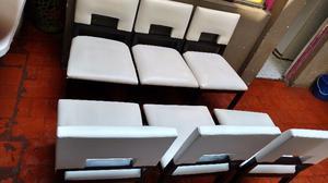 Juego 6 sillas de comedor