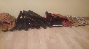 Lote de botas de mujer talle 39