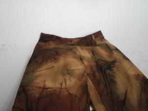 Pantalon Gamuzado Marron Corte Jean Talle 44 Unico
