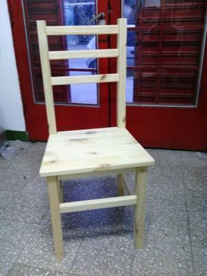 Sillas y mesas de pino directo de fabrica al mejor precio de