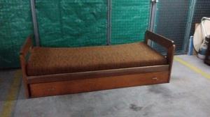 Divan cama 1 plaza posot class for Sillon cama usado