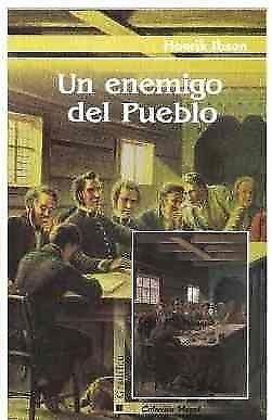 Un Enemigo Del Pueblo, Henrik Ibsen, Editorial Gradifco.