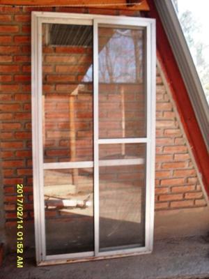 Puerta balcon aluminio posot class for Puerta balcon