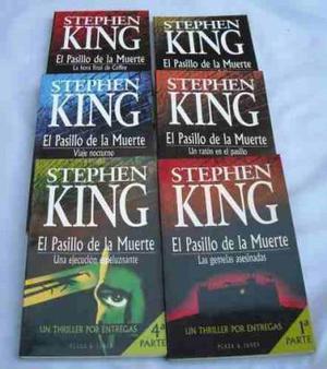 el pasillo de la muerte de king 6-libros 1ra edic