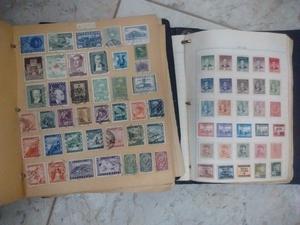 estampillas de correo antiguas