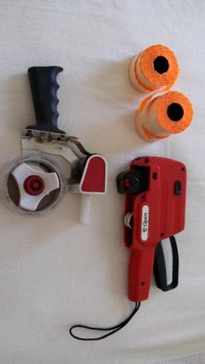 máquina etiquetadora / y máquina encintadora