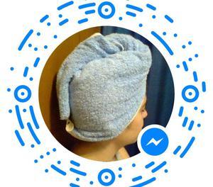 turbantes de toalla