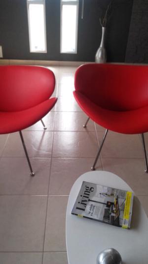 vendo dos sillones paulin nuevos!!