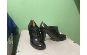 zapatos de cuero de mujer talle 36