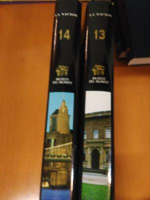 2 Libros colección MUSEOS DEL MUNDO (La Nación)