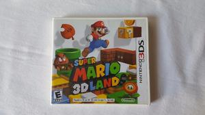 3DS Super Mario 3D Land. SIN USAR En Caja Como Nuevo!!