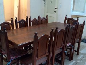 Excelente mesa para 10 personas posot class for Mesa para 10 personas
