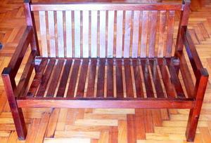 El Restaurador - LIQUIDO!! Sillon Futon 2 cuerpos madera