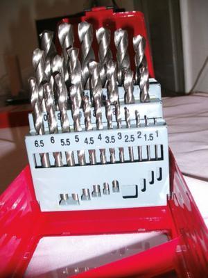 Juego De Mechas Acero 25 Piezas De 1 A 13mm EN LA PLATA