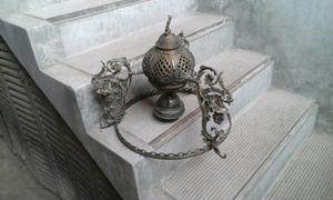 Lámpara colgante de bronce