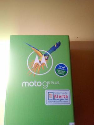 Moto G 5 Plus con lector de huellas y chasis metalico