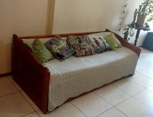 Sofa cama para dos colchones de 1 plaza