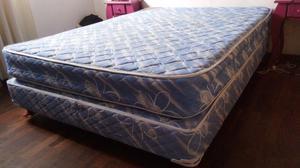 $ Sommier y colchón 2 plazas