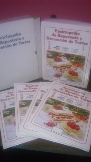 VENDO ENCICLOPEDIA DE REPOSTERIA Y DECORACION DE TORTAS