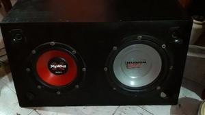 Vendo Caja Acústica con Parlantes Sony Xplod y Selenium