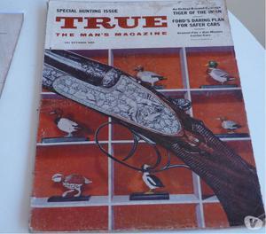 Vendo revistas True, en ingles de la década del 50