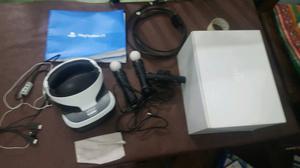 Visor de realidad virtual para play 4 con 5 juegos